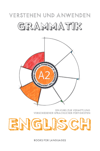 Titelbild für English Grammar A2 Level for German speakers