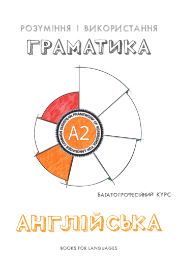 Cover image for English Grammar A2 Level for Ukrainian speakers