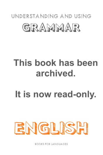 Cover image for ARCHIVED: English Grammar A2 Level - V1
