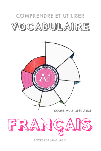 Page couverture de French Vocabulary A1 Level