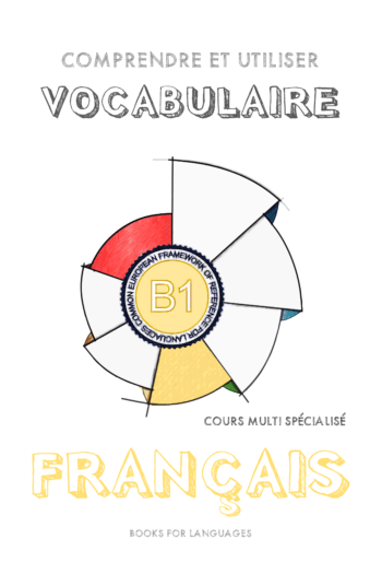 Page couverture de French Vocabulary B1 Level