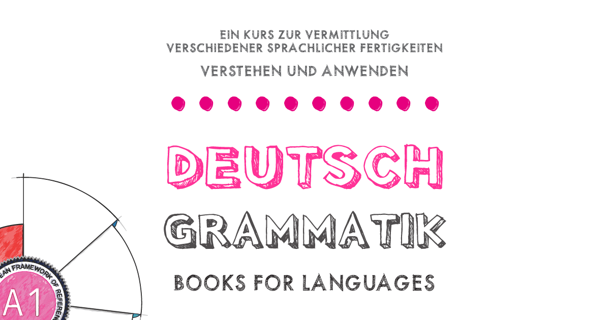 by Books for Languages | German Grammar A1 Level