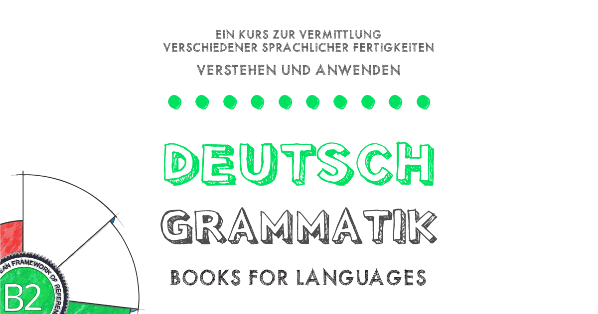 German Grammar B2 Level | by Books for Languages