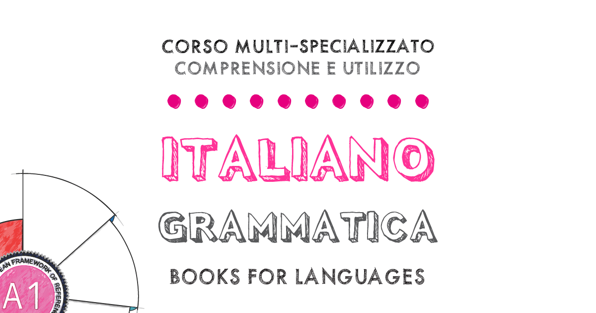 Italian Grammar A1 Level | by Books for Languages