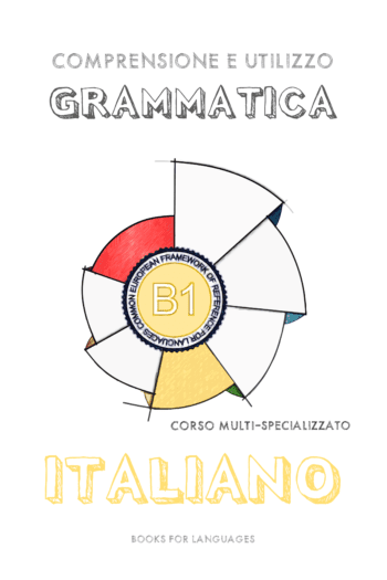 Cover image for Italian Grammar B1 Level