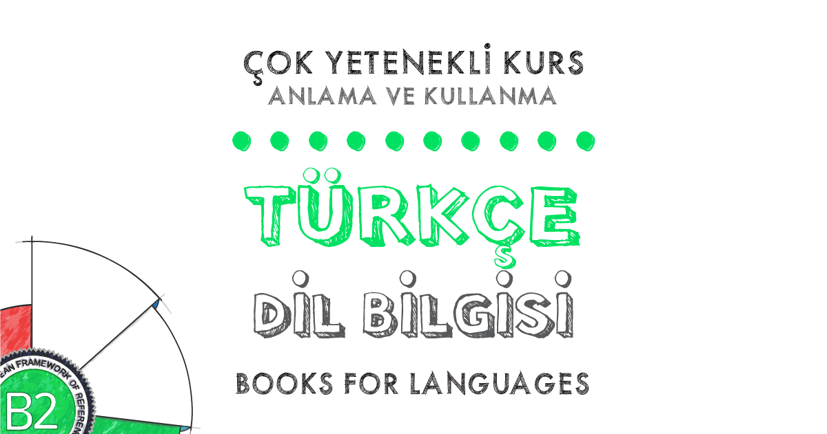 by Books for Languages | Turkish Grammar B2 Level