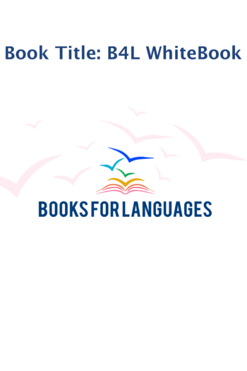 Cover image for Books for Languages WhiteBook